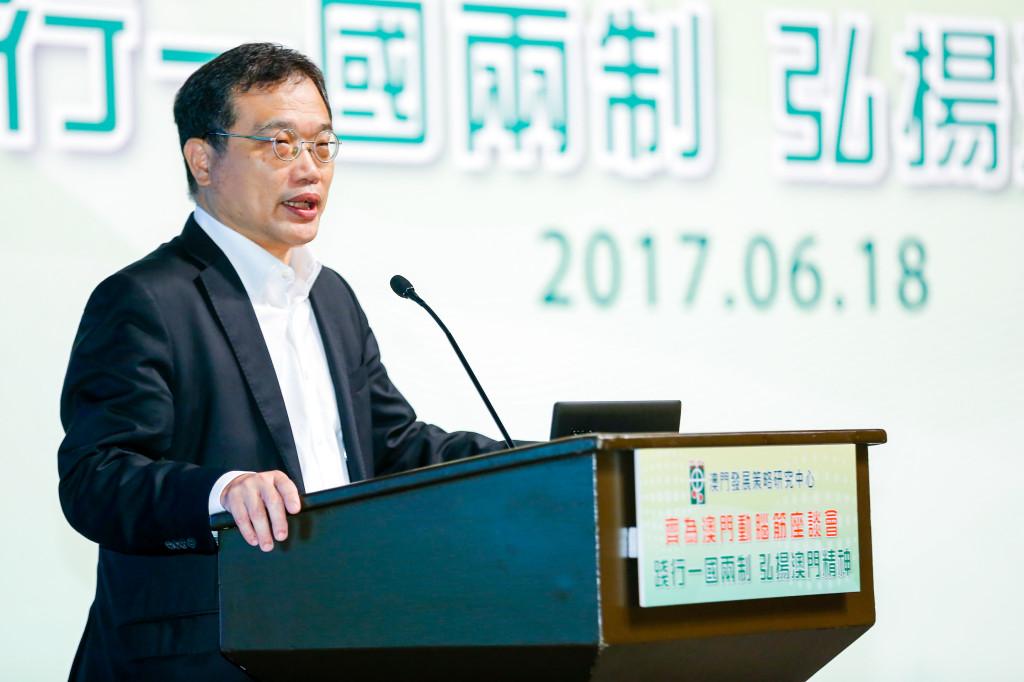 香港一國兩制研究中心總裁張志剛先生